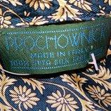 Винтажный мужской шелковый шарф от бренда Prochownick.Италия
