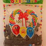 Пиратские черные воздушные шарики