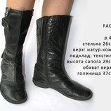 Сапоги FACE р.40 осень/зима