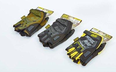Перчатки тактические с открытыми пальцами Mechanix 5628 размер M-XL, 3 цвета