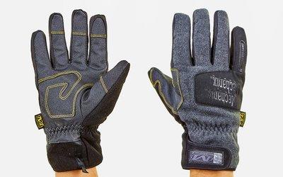 Перчатки тактические теплые текстильные с закрытыми пальцами Mechanix 5621 размер M-XL