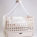 Новый комплект для сна Элит кроватка маятник, ящик, матрас, постель
