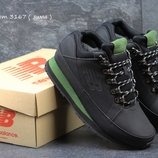 Зимние ботинки New Balance 754 black/green 46р