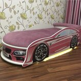 Кровать машина с подсветкой Доставляем по всей Украине
