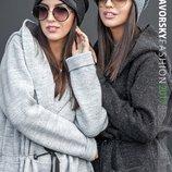 Модная теплая шапка 190