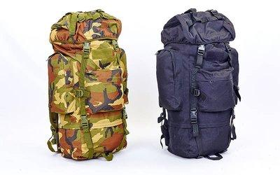 Рюкзак тактический рейдовый каркасный TY-065, 2 цвета объем 65л, 67х27,5х22см