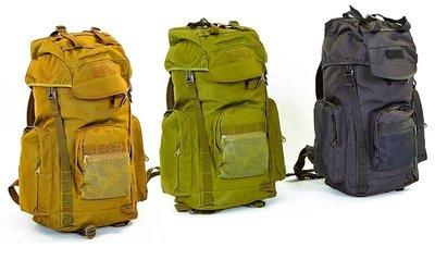 Рюкзак тактический штурмовой TY-038, 3 цвета объем 25л, размер 53х26х17см