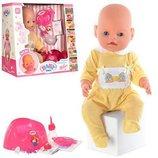 Кукла, пупс Беби Борн. Baby Born. 2 соски. BB 8001-2