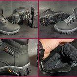 Детские подростковые зимние ботинки Ecco 2 модели не промокают толстая кожа, 35-39