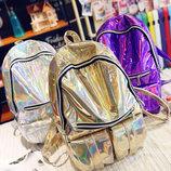 Шикарный большой голографический рюкзак В Наличии