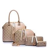 Элегантный набор женских сумок с оригинальным дизайном 4в1 В Наличии