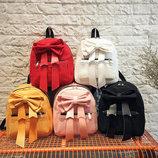 Очаровательный рюкзак с нежным бантом В Наличии
