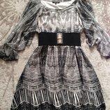 Шикарное стильное платье 48