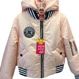 Демисезонная куртка Бомбер на девочку Размеры 36- 40