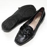 Туфли мокасины женские фирменные Gabor 23,5см 36р