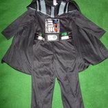 костюм дарта вейдера на 3-4 года