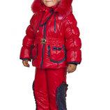 Зимний комбинезон Малышка Тм Анжели р, для девочки 98 см.