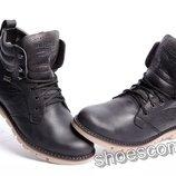 Кожаные зимние ботинки Levi's M 25 - 01 черные