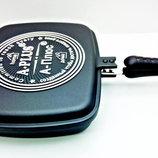 Сковорода двухсторонняя для гриля и жарки 30 см