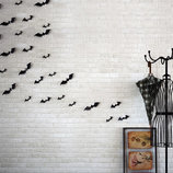 Декор окон стен летучие мыши стикеры 3D наклейка Хеллоуин Halloween