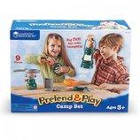Learning Resources Camp Set Походный набор Притворись и играй