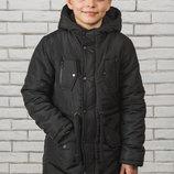 Стильная куртка-парка для мальчика подростка 3 цвета