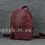 Кожа. Ручная работа. Женский рюкзак из натуральной кожи цвет марсла K00022-6