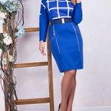 Трикотажное платье 54 размера