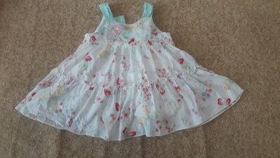 Фирменное платье 0-3месяца