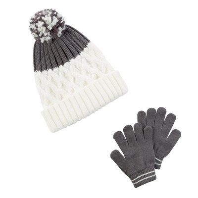 Комплект шапка и перчатки для девочки Carters