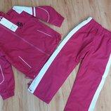 Теплий спортивний костюм з плащовки на флісі 4-6р.Італія