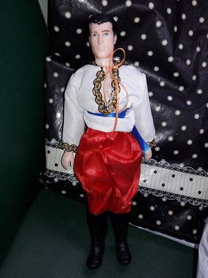 Кукла Кен козак
