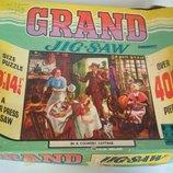 Винтажные коллекционные пазлы ретро картинка старинная кукла
