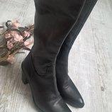 Супер стильные и качественные кожаные сапоги от ANGELO BERVICATO-Italy