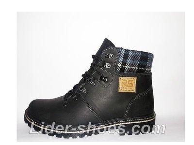 ddb82f414 Мужские ботинки зимние на шнурках: 1020 грн - мужские зимние ботинки ...