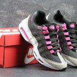 Кроссовки женские Nike 95 black/gray/pink