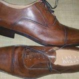 45р-31 см с носка кожа новые туфли SOPRANI UOMO Made in Italy