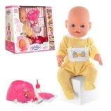 Пупс Baby Born BB 8001-2 аксессуары, 9 функций