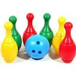 Боулинг кегли с шаром активные игры Max group Мг 070