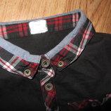 Футболка,рубашка,поло 5-6лет р.116 F&F Новая