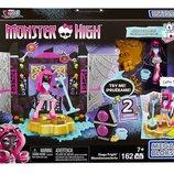 Monster High Catty Noir Stage Fright Building Set Конструктор Мега Блокс Кэтти Нуар сцена