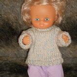 Скидка очень миленькая виниловая кукла Famosa Испания оригинал клеймо 27 см
