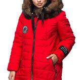 Удобная женская куртка-парка зимняя. до 58 размера