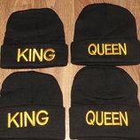 шапка король и королева