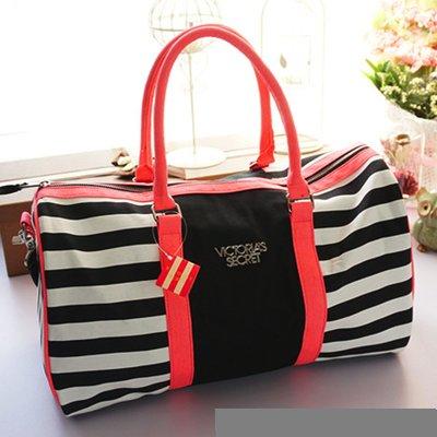 1e04850089dc Дорожная, спортивная сумка в полоску Victoria's Secret 1719: 1000 ...