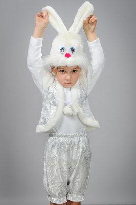 Карнавальный костюм Зайчик мальчик парча