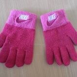 Перчатки девочке Nike Найк фирменные оригинал розовые