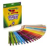 Карандаши цветные набор 50 цветов Crayola