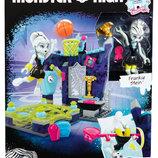 Monster High Physical Deaducation Frankie Stein Doll Конструктор Мега Блокс Спортзал Френки Штейн