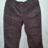 Вельветовые бриджи шорты джинсы капри Tommy Hilfiger, us8, р 46-48